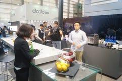 L'électronique grand public de la Chine Shenzhen et les appareils ménagers stigmatisent l'exposition Images libres de droits