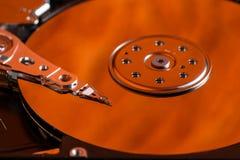 L'électronique numérique de multimédia de hdd d'unité de disque dur Image libre de droits