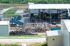 L'élimination des déchets, gestion, réutilisation, réutilisent et des concepts de récupération Photographie stock libre de droits
