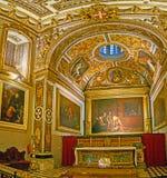 L'éloquence de la Co-cathédrale de St John, La Valette, Malte photographie stock libre de droits