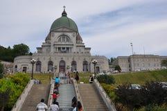 L'éloquence de St Joseph au bâti royal à Montréal Images libres de droits