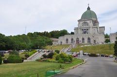 L'éloquence de St Joseph au bâti royal à Montréal Photographie stock