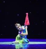 L'émergence de la danse classique serpent-chinoise de Reiki Image stock