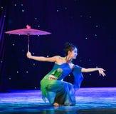 L'émergence de la danse classique serpent-chinoise de Reiki Photographie stock