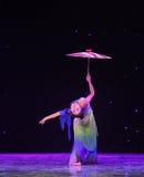 L'émergence de la danse classique serpent-chinoise de Reiki Photos libres de droits