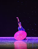 L'émergence de la danse classique serpent-chinoise de Reiki Images stock