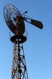 L'éolienne de la commune de Clapiers Stock Photography