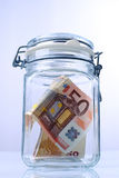 l'épargne Image stock