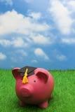 L'épargne d'éducation Photo stock