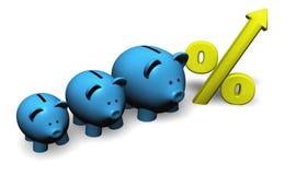 L'épargne d'accroissement Image libre de droits