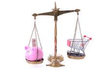 L'épargne d'achats image libre de droits