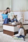 L'épargne de famille Photos libres de droits