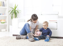 L'épargne de famille Photographie stock libre de droits