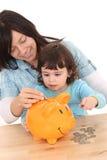 L'épargne de famille Image stock