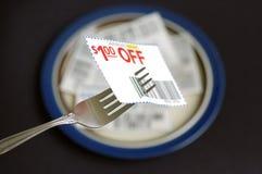 l'épargne de nourriture Photographie stock libre de droits