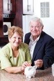 L'épargne de retraite Photographie stock libre de droits