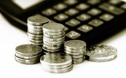 l'épargne financière d'accroissement Photos libres de droits