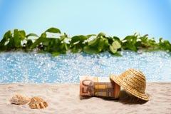L'épargne pour des vacances photos libres de droits