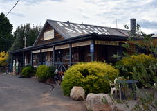 L'épicerie générale de Dargo a été la première fois établie en 1923 Images libres de droits