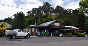 L'épicerie générale de Dargo a été la première fois établie en 1923 Photos libres de droits
