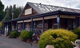 L'épicerie générale de Dargo a été la première fois établie en 1923 Photo libre de droits