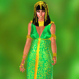 L'épouse du pharaon Image stock