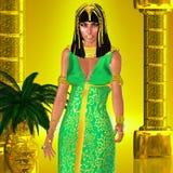 L'épouse du pharaon Images libres de droits