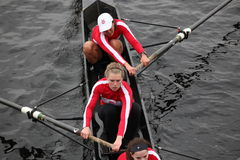 L'équipage des femmes d'université de McGill Image stock