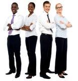 L'équipe d'affaires d'élite Image stock