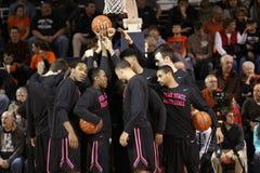 L'équipe de basket de Penn State Photos stock