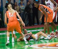 L'équipe de basket Etats-Unis des femmes Photographie stock