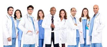 L'équipe du docteur Image stock