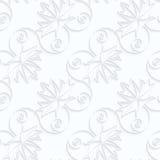 L'érable diagonal de papier de Quilling part avec des veines et des spirales Photos libres de droits