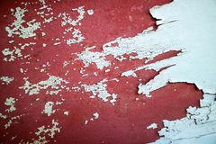 l'érosion sur la surface métallique était des dommages par la chaleur de la lumière du soleil illustration de vecteur