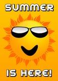 L'été est ici Images libres de droits