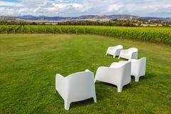 L'établissement vinicole donnent sur Images stock