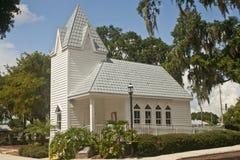 L'étain a couvert l'église historique, la Floride Images libres de droits