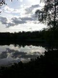 L'étang au VDNKH à Moscou Photographie stock