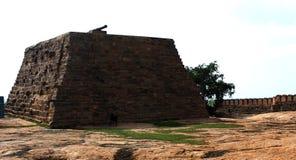 L'étape de canon du fort Image libre de droits