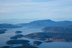 L'état de Washington d'îles de San Juan Image libre de droits