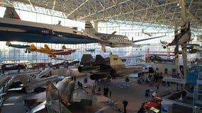 L'ÉTAT DE WASHINGTON DE SEATTLE, ETATS-UNIS - 10 OCTOBRE 2014 : Le musée du vol est le le plus grands air et espace privés Image libre de droits