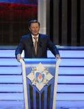 L'état russe, politique et leader militaire Membre permanent du Conseil de sécurité de la Fédération de Russie Sergey Ivanov Images stock