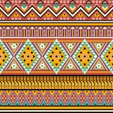 L'éthique abstraite dénomme le modèle sans couture tribal illustration stock