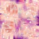 L'étincelle rose Attacher-teignent le fond Photo libre de droits