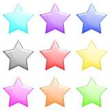 L'étoile brillante a placé 1 Photo stock