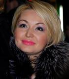 L'étoile de la musique et des scènes Katya Lel au prem Photographie stock
