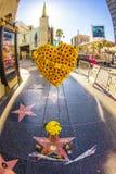 L'étoile de Michael Jackson sur la promenade de Hollywood de la renommée Photos libres de droits