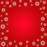 L'étoile fleurit le cadre Image libre de droits