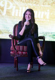 "L'étoile superbe Anushka Sharma de Bollywood favorise son  prochain d'""Phillauri†de film à Bhopal Photo stock"