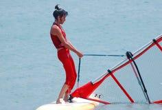 l'étude windsurf Photos stock